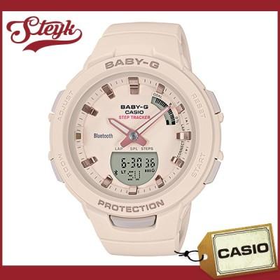15日23:59までポイントUP! CASIO BSA-B100-4A1 カシオ 腕時計 アナデジ ベイビージー BABY-G スマートフォンリンク レディース ベージュ