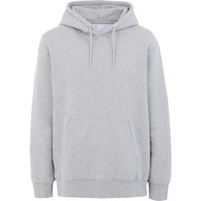 カラフルスタンダード COLORFUL STANDARD メンズ パーカー トップス hooded sweatshirt Light grey