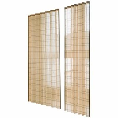 竹すだれカーテン 100×170cm 2枚組 TC1507172P カーテン