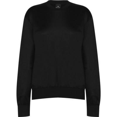 ポールスミス PS Paul Smith レディース ニット・セーター トップス Swirl Sweater Black B