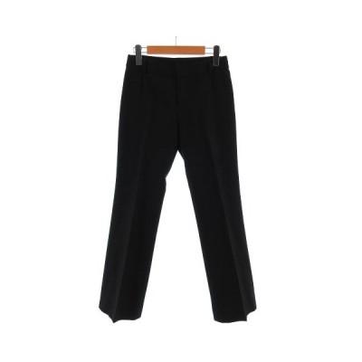 【中古】ボッシュ BOSCH パンツ スラックス 日本製 ブラック 黒 38 レディース 【ベクトル 古着】