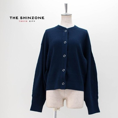 THE SHINZONE シンゾーン レディース CAPELIN CARDIGAN ケープリンカーディガン(19AMSCU20)(BASIC)