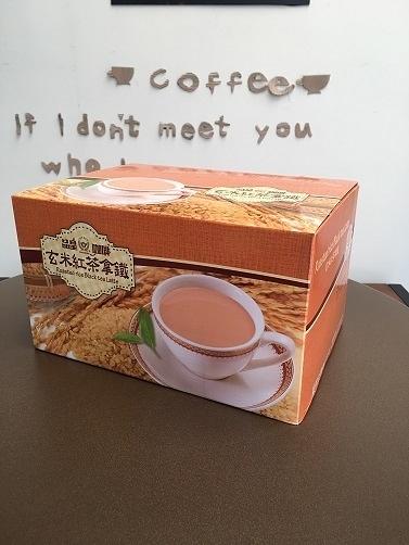 (限定 全家取貨付款)品皇玄米紅茶拿鐵, 38g*68入 量販盒裝