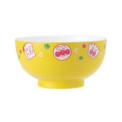 124381/金正陶器 アンパンマン 塗汁碗S (イエロー)食器/キッズ/子供/やなせたかし