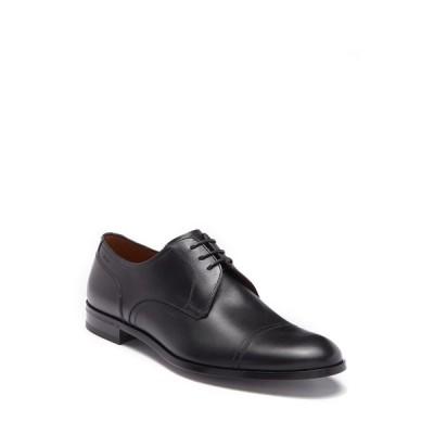 バリー メンズ ドレスシューズ シューズ Brustel Cap Toe Leather Derby 0100 BLACK