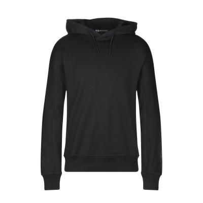 ワイスリー Y-3 スウェットシャツ ブラック XS コットン 100% スウェットシャツ