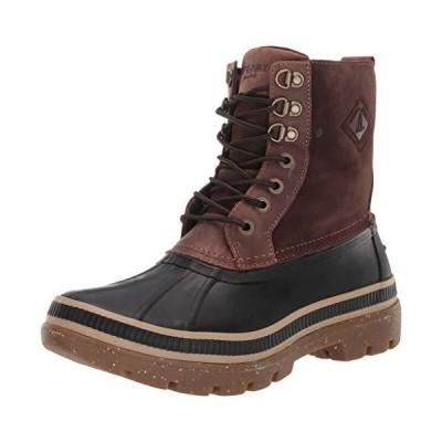 Sperry Men's Ice Bay Snow Boot, Black/Tan, 9.5 M US