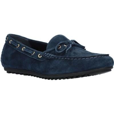 ベラヴィータ Bella Vita レディース ローファー・オックスフォード シューズ・靴 Scout Comfort Loafers Navy Suede Leather