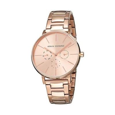 Armani Exchange Women's Ax5552 Rose-Gold Stainless-Steel Quartz Dress Watch