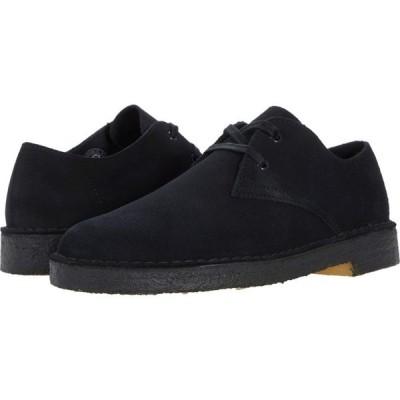 クラークス Clarks メンズ 革靴・ビジネスシューズ シューズ・靴 Desert Khan Black Suede