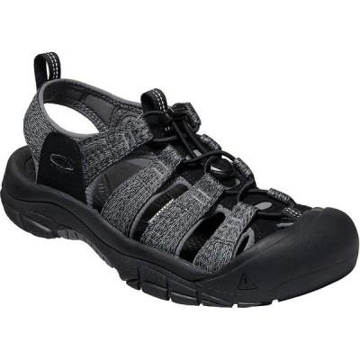 キーン サンダル メンズ シューズ Newport H2 Sandal - Men's Black/Steel Grey