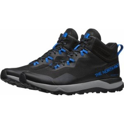 ノースフェイス メンズ ブーツ・レインブーツ シューズ The North Face Men's Activist Mid Futurelight Hiking Boots Black/Blue