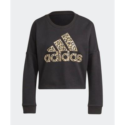 スウェット レオパード グラフィック スウェット [Leopard Graphic Sweatshirt] アディダス