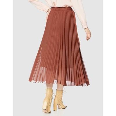 ミラオーウェン タック風プリーツスカート 09WFS195028 レディース BRW 日本 0 (日本サイズ7 号相当)