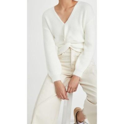 ビービーダコタ BB Dakota レディース ニット・セーター トップス Got It Twisted Twist Front Sweater Ivory