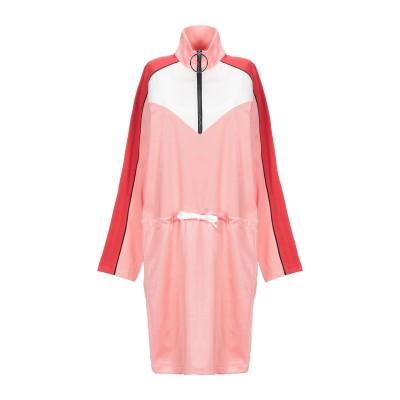 8PM ミニワンピース&ドレス ピンク XXS コットン 50% / ポリエステル 50% ミニワンピース&ドレス