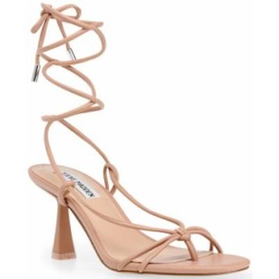 スティーブ マデン レディース サンダル シューズ Women's Superb Tie-Up Dress Sandals Tan