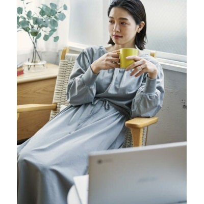 URBAN RESEARCH/アーバンリサーチ 【在宅ワーカーが開発】カップ付きウエストギャザーワンピース G.MINT FREE