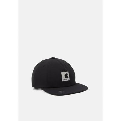 カーハート 帽子 メンズ アクセサリー HURST UNISEX - Cap - black