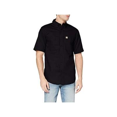 特別価格Carhartt メンズ Rugged Professional 半袖ワークシャツ US サイズ: Large カラー: ブラック好評販売中