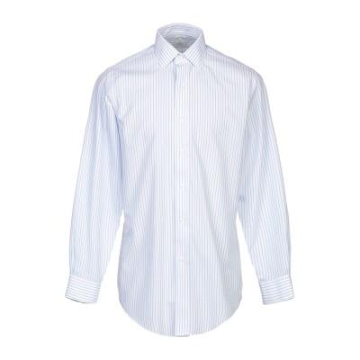 ブルックス ブラザーズ BROOKS BROTHERS シャツ アジュールブルー 15 コットン 100% シャツ