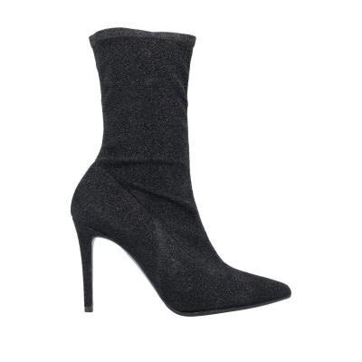 FOR YOU ショートブーツ ブラック 36.5 紡績繊維 ショートブーツ
