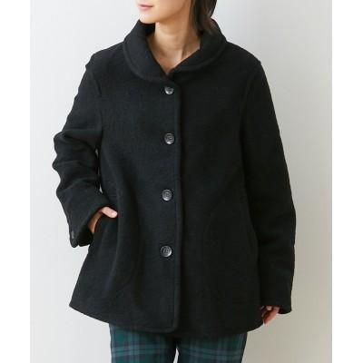 ウール混小衿ジャケット (ジャケット・ブルゾン)(レディース)Jackets