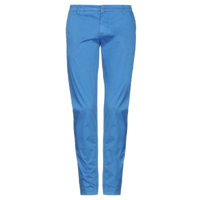 MORO パンツ ブルー 44 コットン 97% / ポリウレタン 3% パンツ