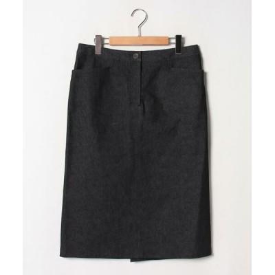 Leilian PLUS HOUSE/レリアンプラスハウス 上品タイトスカート ブラック9 13+