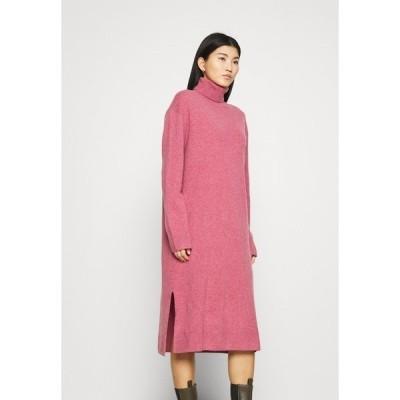 サムスサムス ワンピース レディース トップス AMARIS DRESS  - Jumper dress - pink melange
