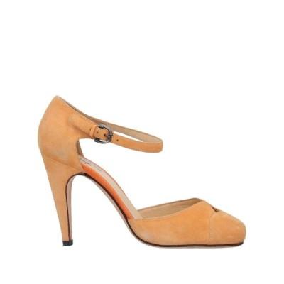 SANTONI サンダル ファッション  レディースファッション  レディースシューズ  サンダル、ミュール  サンダル オレンジ