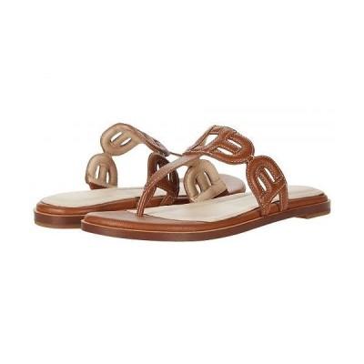 Cole Haan コールハーン レディース 女性用 シューズ 靴 サンダル Anoushka Sandal - British Tan Leather Natural Heavy Guage Stitch/Dark Natural