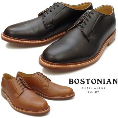 ボストニアン BOSTONIAN PLAIN TOE SHOES 26137125 26137126 プレーントゥシューズ メンズ ビジネス オフィサーシューズ プレーントゥ ビジネスシューズ 本革