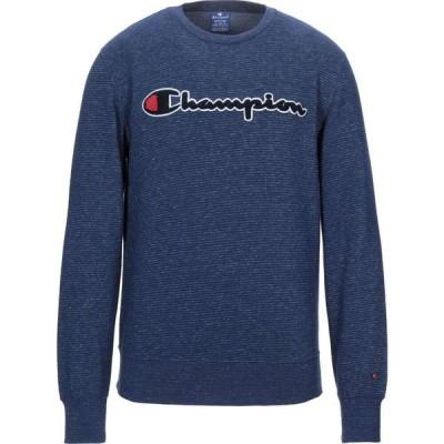 チャンピオン CHAMPION メンズ スウェット・トレーナー トップス sweatshirt Dark blue