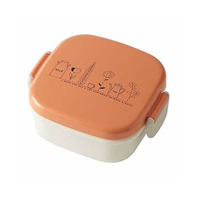 竹中 ランチボックス growth デザートタイトランチ 電子レンジ対応 オレンジ 240ml T-96475