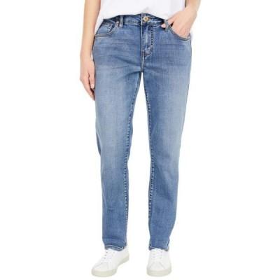 レディース パンツ Carter Girlfriend Crosshatch Denim Jeans