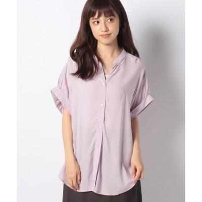 【テチチ】【Lugnoncure】とろみシャツ SS