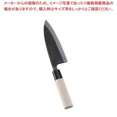堺 菊守 黒出刃 15cm