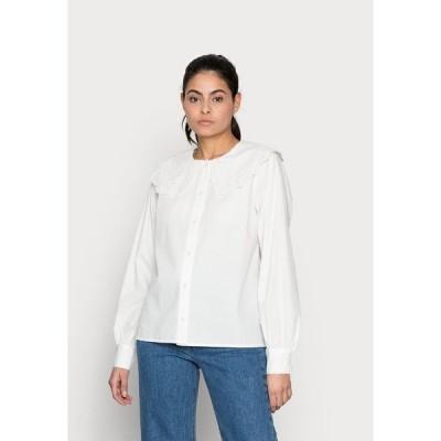 モドストローム シャツ レディース トップス JADIE SHIRT - Blouse - off white