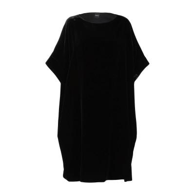 アスペジ ASPESI ミニワンピース&ドレス ブラック 38 レーヨン 82% / シルク 18% ミニワンピース&ドレス