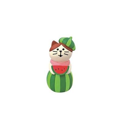 ディスプレイ DECOLE デコレconcombre コンコンブル スイカの妖精猫 ZSV-79221