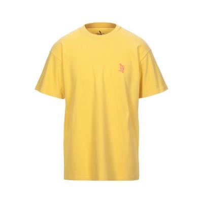 カーハート CARHARTT T シャツ イエロー XS コットン 100% T シャツ
