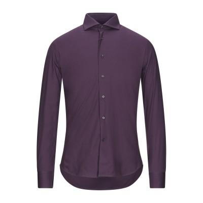 ALEA シャツ ディープパープル 41 コットン 97% / ポリウレタン 3% シャツ