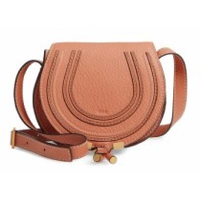 クロエ CHLOE レディース ショルダーバッグ バッグ Mini Marcie Leather Crossbody Bag Muted Brown