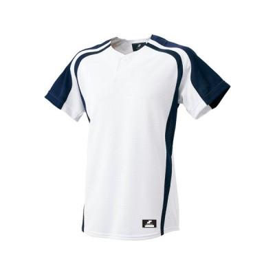 エスエスケイ(SSK) BW0906 1070 1ボタンプレゲームシャツ 野球 17SS