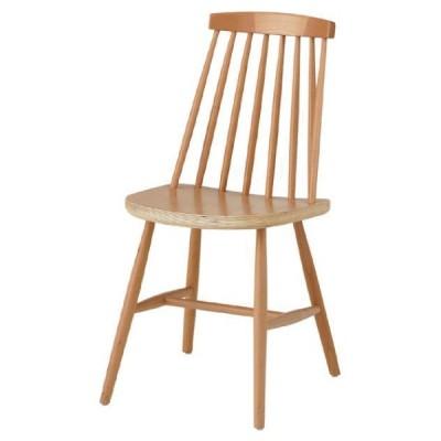 ダイニングチェア 椅子 ナチュラル おしゃれ 北欧 1人掛け 1人用 食卓椅子 木製 天然木 カントリー CL-311NA / 東谷