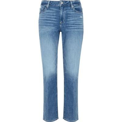 ペイジ Paige レディース ジーンズ・デニム ボトムス・パンツ brigitte blue cropped slim-leg jeans Blue