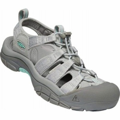 キーン KEEN レディース サンダル・ミュール シューズ・靴 Newport H2 Water Sandal with Toe Protection Grey/Ocean Wave