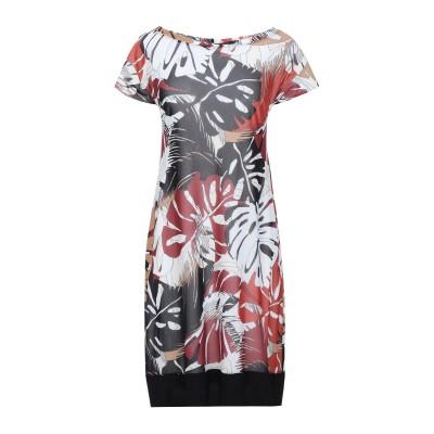 D.EXTERIOR ミニワンピース&ドレス レンガ S ナイロン 100% ミニワンピース&ドレス