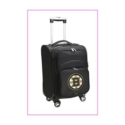 Denco NHL Boston Bruins Upright Domestic Carry-On Spinner, 20-Inch, Black【並行輸入品】